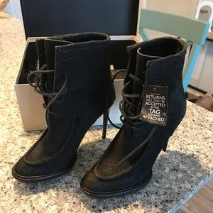 Burberry Fleming Platform Boot